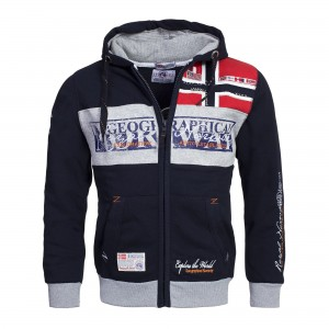 Geographical Norway - Męska bluza z kapturem