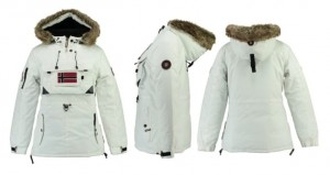 Geographical Norway Damska Parka Bougie w 4 kolorach