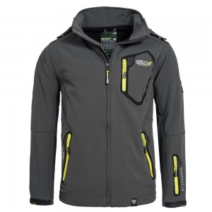 Kurtka męska Geographical Norway JMS004 Softshell TSUNAMI MEN